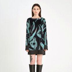 FREAKY MINT VELVET DRESS - MINT(ITEMB6UEWBN)