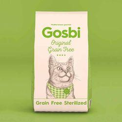 고양이사료 고스비 그레인프리 캣 중성화 3kg