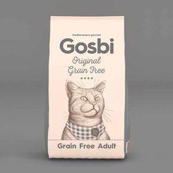 고양이사료 고스비 그레인프리 캣어덜트 3kg