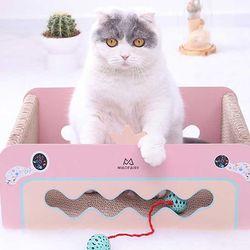 스트레스 해소 고양이 서킷 스크래쳐 박스CH1781787