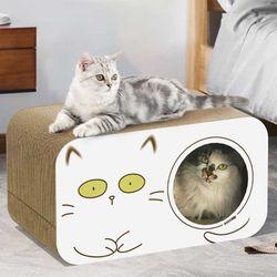 스트레스 해소 고양이 고밀도 스크래쳐 하우스