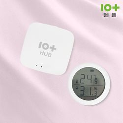 텐플 IoT 스마트 허브+온습도센서Set