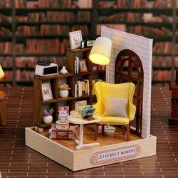 [adico]DIY 미니어처 스페셜 키트 - 독서방