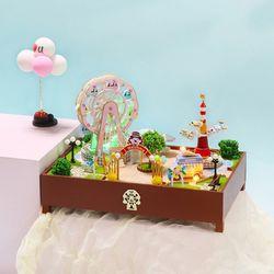 [adico]DIY 미니어처 놀이동산 - 파라다이스