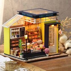 [adico]DIY 미니어처 하우스 - 디저트 카페