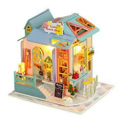 [adico]DIY 미니어처 하우스 - 스낵샵