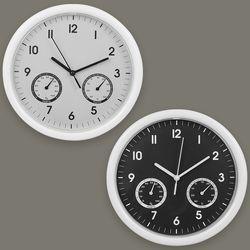 온습도 벽시계 무소음 시계 인테리어 온습도계 온도계