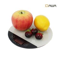 다와 가정용 디지털 주방저울 DK-5001R 전자저울