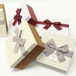 포포팬시 해피 정사각형 선물상자 3종 세트