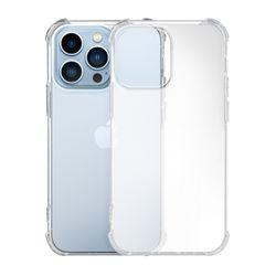 아이폰13PRO 세미블러 지문방지 매트 투명범퍼케이스