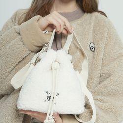 Teddy Drawstring Bag(ITEMUNOCQ12)