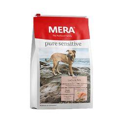 강아지사료 메라 퓨어센서티브 연어 쌀 어덜트 4kg