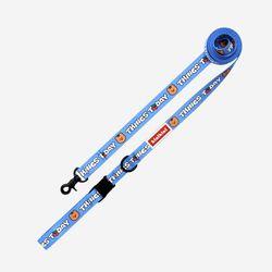 키니키니X어프어프 CHERRY COVY LEASH-BLUE(리드줄)