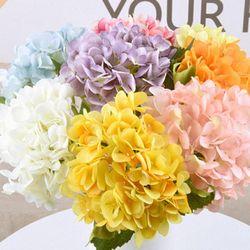 라이프공방 수국조화 조화 꽃 장식 망고튤립조화