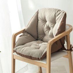라이프공방 좌식겸용일체형방석 식탁 의자 거실 카페