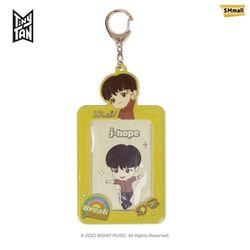 BTS 타이니탄 다이너마이트 포토 카드 키홀더 제이홉 J-HOPE