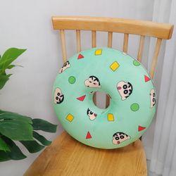 짱구는못말려 극세사 슬리핑 메모리폼 도넛방석 민트