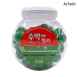 수박 모양 젤리 18g (1통-50개입)