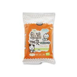 펫전용 손발 엉덩이전용 도톰한 물티슈-40매