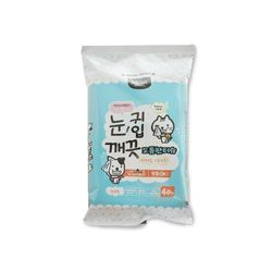 펫전용 눈 귀 입전용 도톰한 물티슈-40매