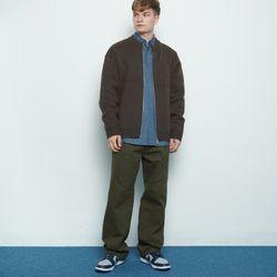 M508 gly cotton wide pants khaki