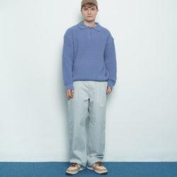 M456 banding cotton pants grey