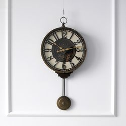 엔틱스타일 추 시계 (85417)