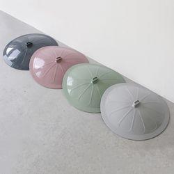 국내산 파스텔 실리콘 후라이팬 덮개 - 4color