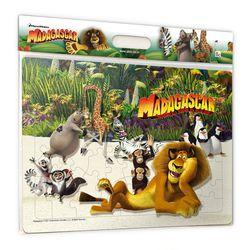 (알록퍼즐)마다가스카 친구들 판퍼즐(80피스AL80-160)
