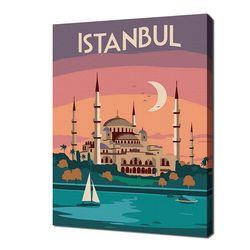 [명화그리기]2030 미니여행-이스탄불 15색 일러스트