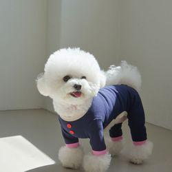 장난꾸러기 베베 수트 핑크네이비