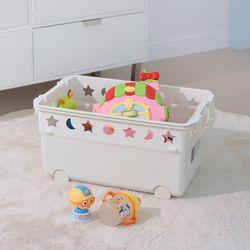 창신리빙 꿈나라 키즈 장난감 인형 토이박스 50L