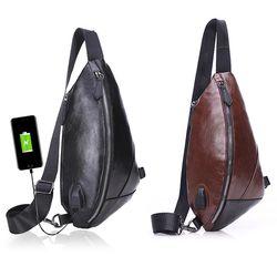 슬링백 USB충전 핸드폰가방 남자 미니백 크로스백