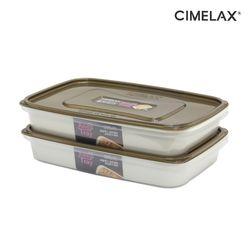 씨밀렉스 킵트레이 다용도보관용기+채반2.7L(2종) 냉장보관용기