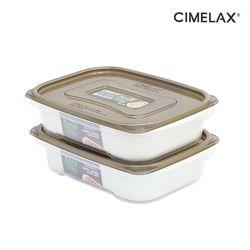 씨밀렉스 킵트레이 다용도보관용기+채반1.3L(2종) 냉장보관용기