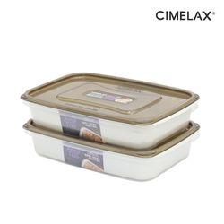 씨밀렉스 킵트레이 다용도보관용기+채반2.0L(2종) 냉장보관용기