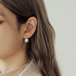 미니 오로라 펄 은침 귀걸이 (21E080)