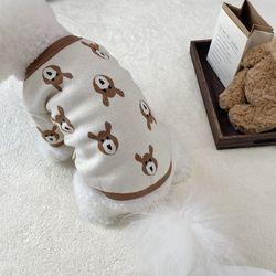 강아지 루돌프 사슴 가을 겨울옷 가디건