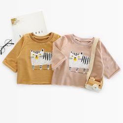 미니멈 타이거 크롭 유아 티셔츠(73-110) 303794