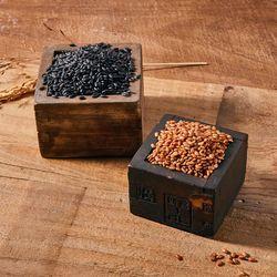 국내산 유기농 게르마늄 함유 현미쌀 조생흑찰 1kg