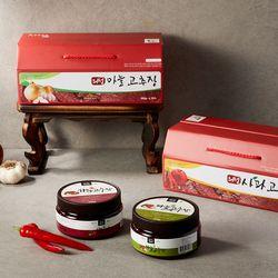 의성 사과&마늘 고추장 500g세트 100%국내산 선물세트