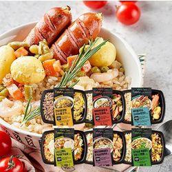 점심 회사 건강 냉동 도시락6팩+퓨전6팩