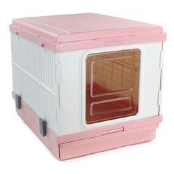 키워보리 휴대용 접이식 고양이화장실(CMer1001)