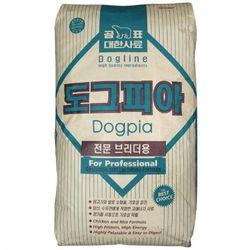 강아지 건식사료 대포장 도그피아 20kg