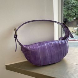 Croissant mini bag (크루아상 미니백) purple