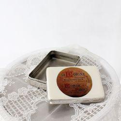 빈티지 인디아 틴케이스 3종 - 직사각