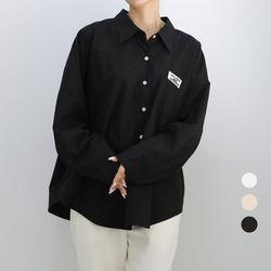 [네오쿠비카]빅사이즈 패치 포인트 카라 남방 lov786