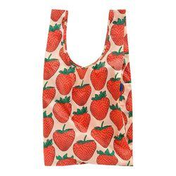[바쿠백] 대형 빅사이즈 장바구니 Strawberry