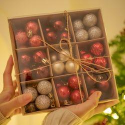 크리스마스 트리 오너먼트 장식볼 세트 99pcs2color