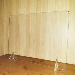 대형 투명아크릴 비말 가림막 비대면 파티션 760mm